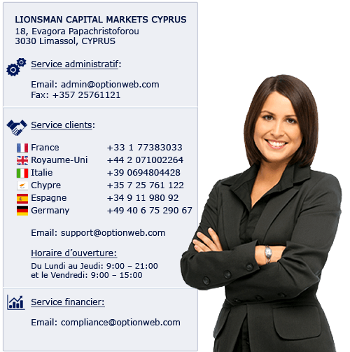 Contact optionweb