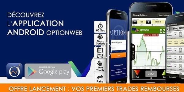 Optionweb app mobile