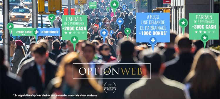 optionweb parrainage