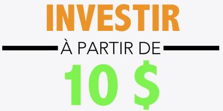 Option binaire - investissement a partir de 10 dollars